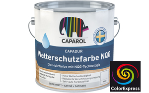 Caparol Capadur Color Wetterschutzfarbe NQG 0,75 Liter | Orange 9