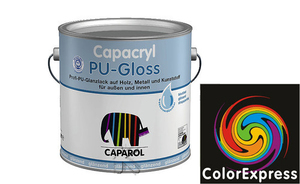 Caparol Capacryl PU-Gloss 0,35 Liter | Orange 0