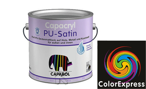 Caparol Capacryl PU-Satin 0,35 Liter | Orange 0