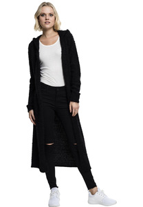 Jacke Urban Classics TB1750  Ladies Hooded Feather Cardigan