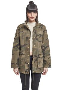 Hoody Urban Classics TB2243  Ladies Camo Cotton Parka
