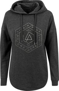 Merchcode MC263  Ladies Linkin Park OML Oversize Hoody