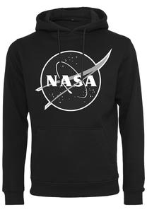 Mister Tee MT1194  NASA Black-and-White Insignia Hoody