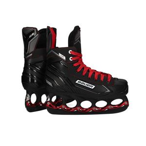 BAUER NS Schlittschuhe Senior T-Blade METALLIC RED EDITION