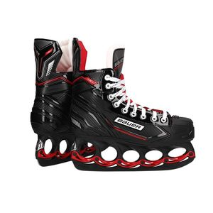 BAUER NSX  Schlittschuhe Senior T-Blade FIRE RED EDITION