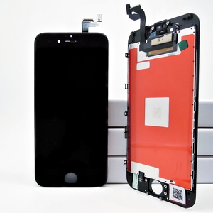 LCD Display für iPhone 6S vormontiert komplett Touch Digitizer Linse schwarz