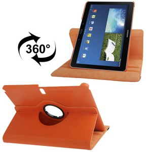 Handy Tasche Für Samsung Galaxy Note 10.1 Edition 2014 P600 Orange