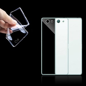 Sony Xperia Z3 Compact Transparent Case Hülle Silikon