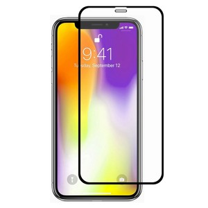 Apple iPhone XS Max 3D Panzer Glas Folie Display 9H Schutzfolie Hüllen Case Schwarz