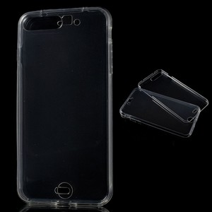 Crystal Case Hülle für Apple iPhone 8 Plus Transparent Full Body