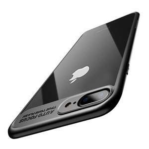 Ultra Slim Case für Apple iPhone 7 Plus / 8 Plus Handyhülle Schutz Cover Schwarz