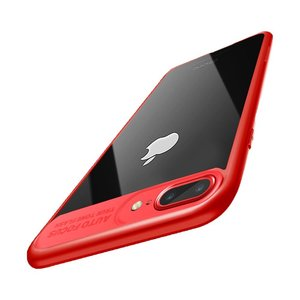 Ultra Slim Case für Apple iPhone 7 Plus / 8 Plus Handyhülle Schutz Cover Rot