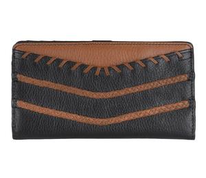 6d511a5c99917 FOSSIL Damen Geldbeutel Portemonnaie Geldbörse mit RFID-Chip Schutz Schwarz  5879