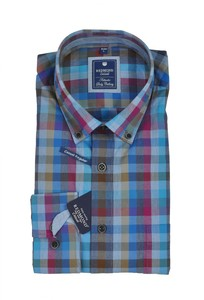 Redmond - Regular Fit - Herren Hemd kariert mit Button-Down Kragen (72340111/72340333)