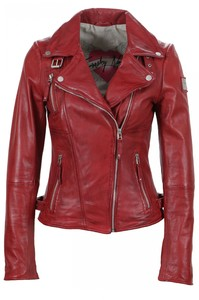 Freaky Nation - Sportliche Damen Lederjacke, Art. Biker Princess (315402)