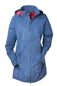 BRIGG -  Damen Softshell Mantel in Blau (10778536)