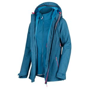 Regatta - Damen 3-in-1 Funktionsjacke, Wasserdicht und Atmungsaktiv, Louisiana IV(RWP268)