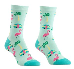 Sock it to me - Damen Socken - Florida - lustige Damen Socken mit Urlaubsmotiven Damen Gr.39-42 One Size