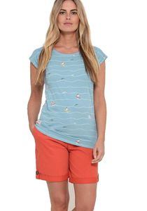 Breakeburn Shirt Damen Surfer Wassersport Wellen