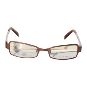 Fossil Brille Matrix silber OF4009040