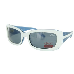 s.oliver Sonnenbrille 4112 C3 white black SO41123