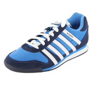K-Swiss Whitburn 02951-420-M, Herren Sneaker, Blau (Brilliant Blue/Navy), 39,5 EU / 6 UK