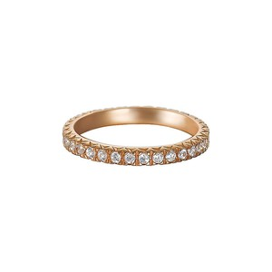 Esprit Damen Ring Silber Rosé Zirkonia Brilliance Rose ESRG91986C1