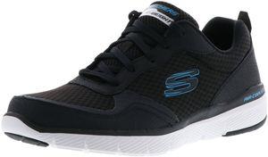 SKECHERS 52957GYBK Flex Advantage 3.0 Stally Herren Sneaker