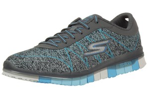 Skechers Damen GO Flex Ability Sneakers Damen Fitnessschuhe Walk grau