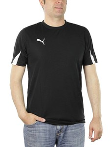 PUMA KC Team Ticino Herren Trikot T-Shirt schwarz Trainingstrikot