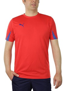 PUMA KC Team Ticino Herren Trikot T-Shirt rot Trainingstrikot