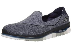 Skechers Go Flex Walk Damen Sommerschuhe Slip On Slipper NVGY Ballerinas