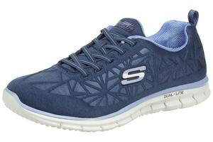 Skechers Glider IN THE ZONE Damen Fitnessschuhe blau Dual Lite