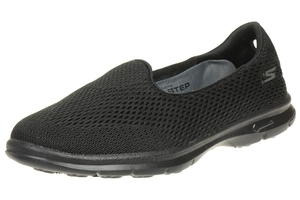 Skechers GO STEP Shift Damen Sommerschuhe Slip On Slipper BBK Ballerinas