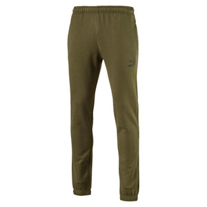PUMA Archive Logo Sweat Pants Sporthose Trainings Hose Fleecefutter olive