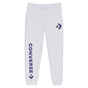 Converse Star Chevron Graphic Jogger White Herren Jogginghose Sweat Pants weiss
