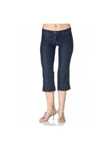 Lybwylson by Toff Togs 3/4 Sommer Jeans dunkelblau