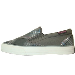 Converse Skid Grip EV Plaid Slip-On Sneaker grau/bunt