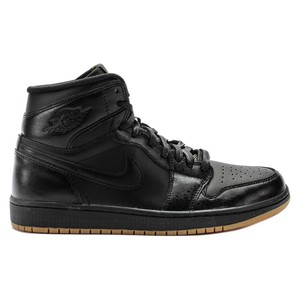 Nike Air Jordan 1 One Retro High OG Sneaker Basketballschuhe schwarz