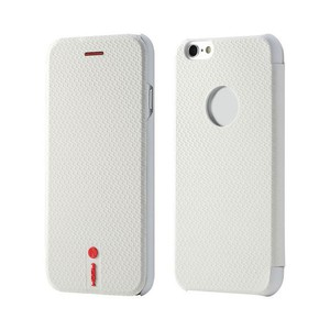 Original ROCK NFC Smartcover Weiss für Apple iPhone 6 4.7