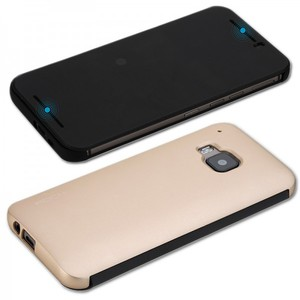 Original ROCK Smartcover Gold für HTC One 3 M9 2015
