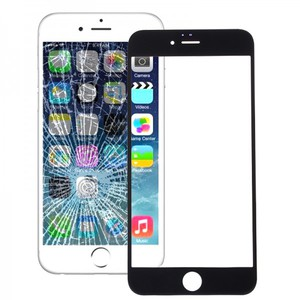 Displayglas Glas Schwarz für Apple iPhone 6S 6 S 4.7