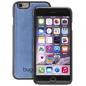 Bugatti ClipOnCover Cover Leder Hülle Modena iPhone 6S 6 Denim