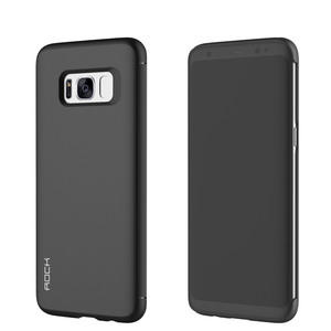 Original ROCK Shadow Smartcover Schwarz für Samsung Galaxy S8 Plus G955 G955F