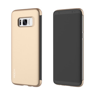 Original ROCK Shadow Smartcover Gold für Samsung Galaxy S8 Plus G955 G955F
