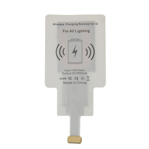 QI 8Pin Ladepad Pad Wireless Charging Induktives Laden für Apple iPhone 7 6S 6 5S 5C 5