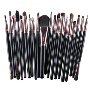 20 in 1 Pinselset Brushes Make-Up Set Soft Multifunktion Beauty Schminke Girly Stuff Neu Top