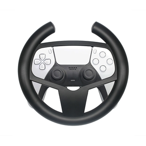 Für Playstation 5 PS5 Controller Round Gaming Steering Wheel Schwarz Game