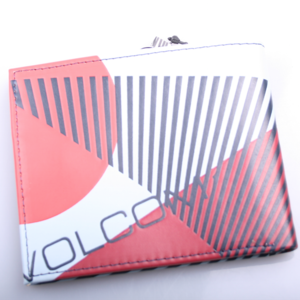 Volcom Bolder Pu Wallet Red/Grey