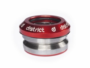 District Headset Integrated Red